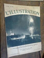 L' illustration 4768 / 21 juillet 1934 FEERIE NOCTURNE A PARIS LE SOIR DU 14 JUI