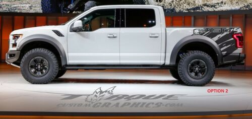 Chevy Ram Trucks Ford Wave-Bed Graphics-Vinyl Decal Ford Custom Graphics
