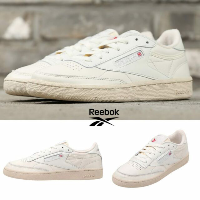 new specials presenting 50% off Reebok Classic Club C 85 Vintage Shoes Sneakers Ivory BS8243 SZ 5-12.5  Limited