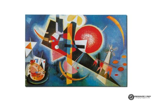 """Multi Sizes Wassily Kandinsky Picture /""""In Blue/"""" 1925 Canvas Print Wall Art"""