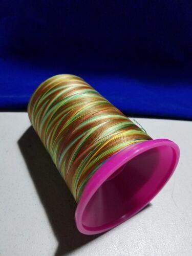 Gutermann Tera Calora30 Variegated//Multicolor Topstitching Thread//Tex100//3280yds