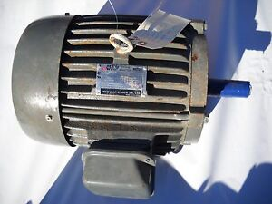 Westinghouse Teco 3ph 7 5 Hp Electric Motor 5 5kw Aeea