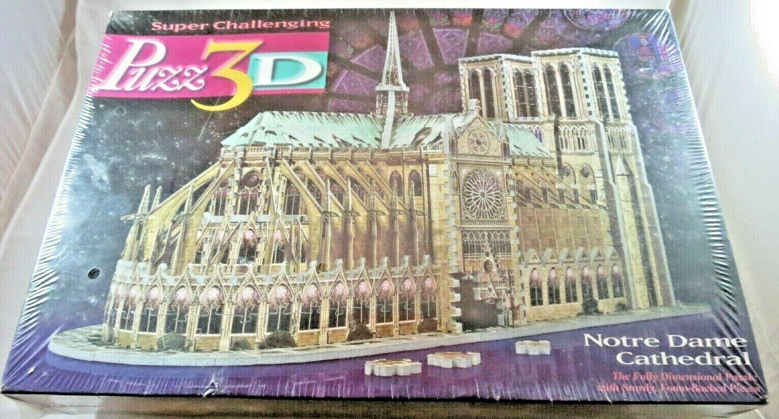 Puzz  3D Cathédrale Notre Dame 3D Puzzle 952 pcs Neuf à partir de 1996  bon prix
