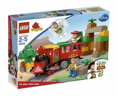 LEGO  Duplo giocattolo storia 3 the Great Train Chase 5659 Woody Buzz Jessie minifig nuovo  miglior prezzo