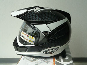 uvex enduro 3 in 1 enduro integralhelm schwarz weiss. Black Bedroom Furniture Sets. Home Design Ideas
