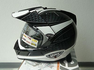 Uvex Enduro 3 in 1 Enduro - Integralhelm schwarz -weiss- shiny