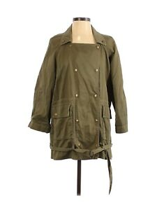 Current/Elliott Women The Infantry Jacket Size 1 Small Military Green Revolve