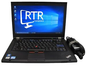Lenovo-Thinkpad-T420-Laptop-i5-2520-2-5GHz-16GB-RAM-160GB-HDD-Win-10-2-Yr-Warr