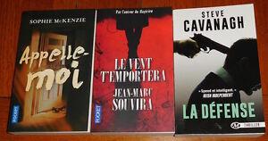 Lot-3-thrillers-recents-Appelle-moi-Le-vent-t-039-emportera-La-defense