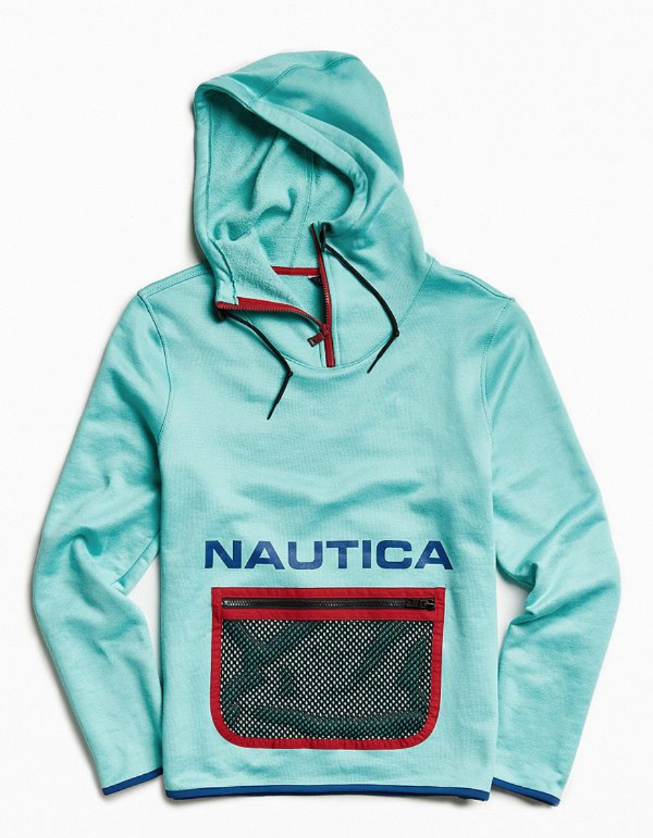 Nautica Urban Outfitters Grün Lil Yachty Pullover Hoodie Supreme Small Vintage