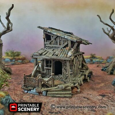 Details about  /Gaslands Terrain Junkfort Bastions Towers 20mm Apocalypse Tabletop Mad Max