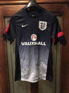 England Calcio Formazione Camicia Adulto-Taglia Small