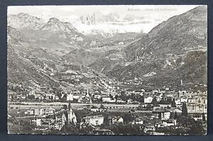 Bolzano-Gries-Vol-Catinaccio-Italia-Cartolina-Ak-Lot-G-1818