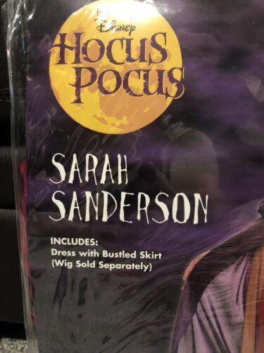 Details about  /Disney Hocus Pocus Movie Sarah Sanderson Size Large 12-14 Halloween Costume