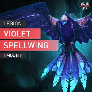 WoW-Mount-Violette-Zauberschwinge-Argus-HEROIC-Antorus-Last-Boss-Kill-Raid-EU