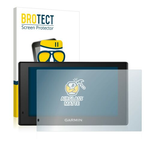 Garmin DriveSmart 51 LMT-D Cristal Mate Lámina de Vidrio Protector Pantalla