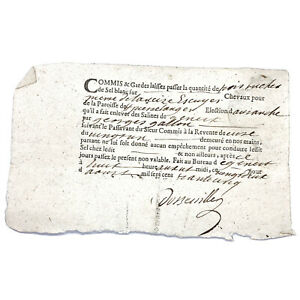 Authentic-1700-s-European-Document-Legal-Work-Paper-Handwritten-Old-Manuscript-H