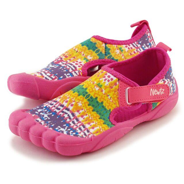 e9392507e4 Girls Newtz Water Shoe Sz 11-12 Bumper Toe Swim Pink UPF 50 Sandal ...