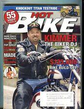 Hot Bike Magazine Harley Davidson May 2005 Kimmer Biker DJ EX w/ML 122716jhe