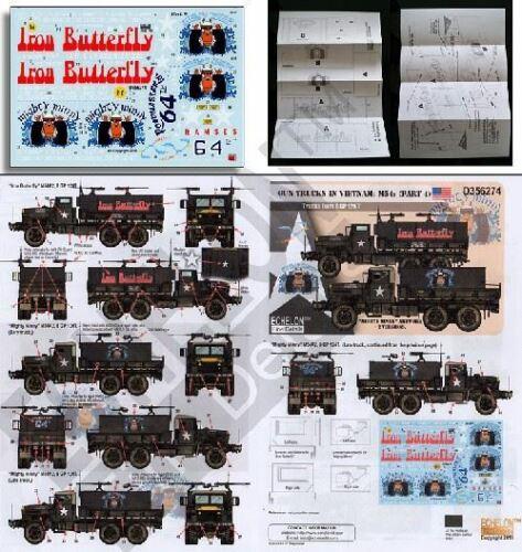 ECHELON DECALS 1//35 M54S 8 GP 124T GUN TRUCKS IN VIETNAM PART 4356274