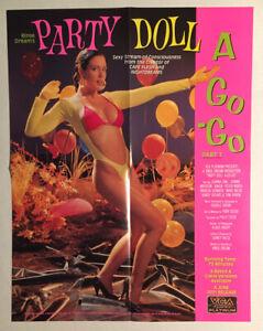 """RARE COLLECTIBLE """"PARTY DOLL A GO-GO PT. 1"""" MOVIE POSTER - PORN ..."""