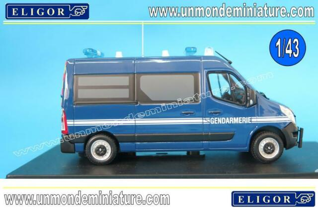 Renault Master 2014 Gendarmerie  ELIGOR - EL 116428 - Echelle 1/43 NEWS MAI 2019