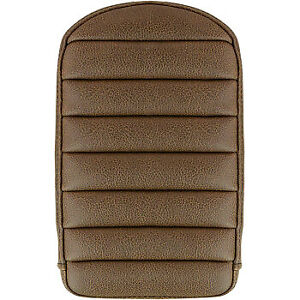 Saddlemen Step Up Sissy Pad Tuck and Roll Brown 041146BR