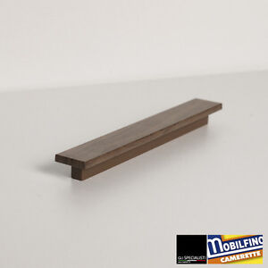 Mobilfino-maniglia-lineare-noce-canaletto-interasse-192-mm-black-walnut-handle