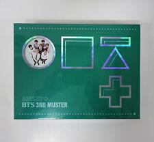 BANGTAN BOYS BTS 3rd MUSTER [ARMY.ZIP+] DVD+Photobook+Pre-Order Gift+Free Gift