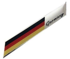 Sticker-Aufkleber-Emblem-Deutschland-Germany-Metall-selbstklebend-3D-Schriftzug