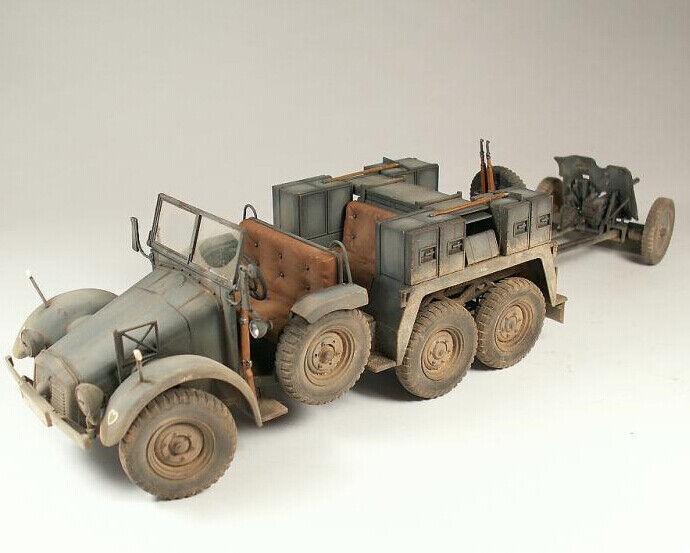 Tamiya 1   35 Krupp projoze 3,7 cm - Pak antitanque fabricado por el ganador