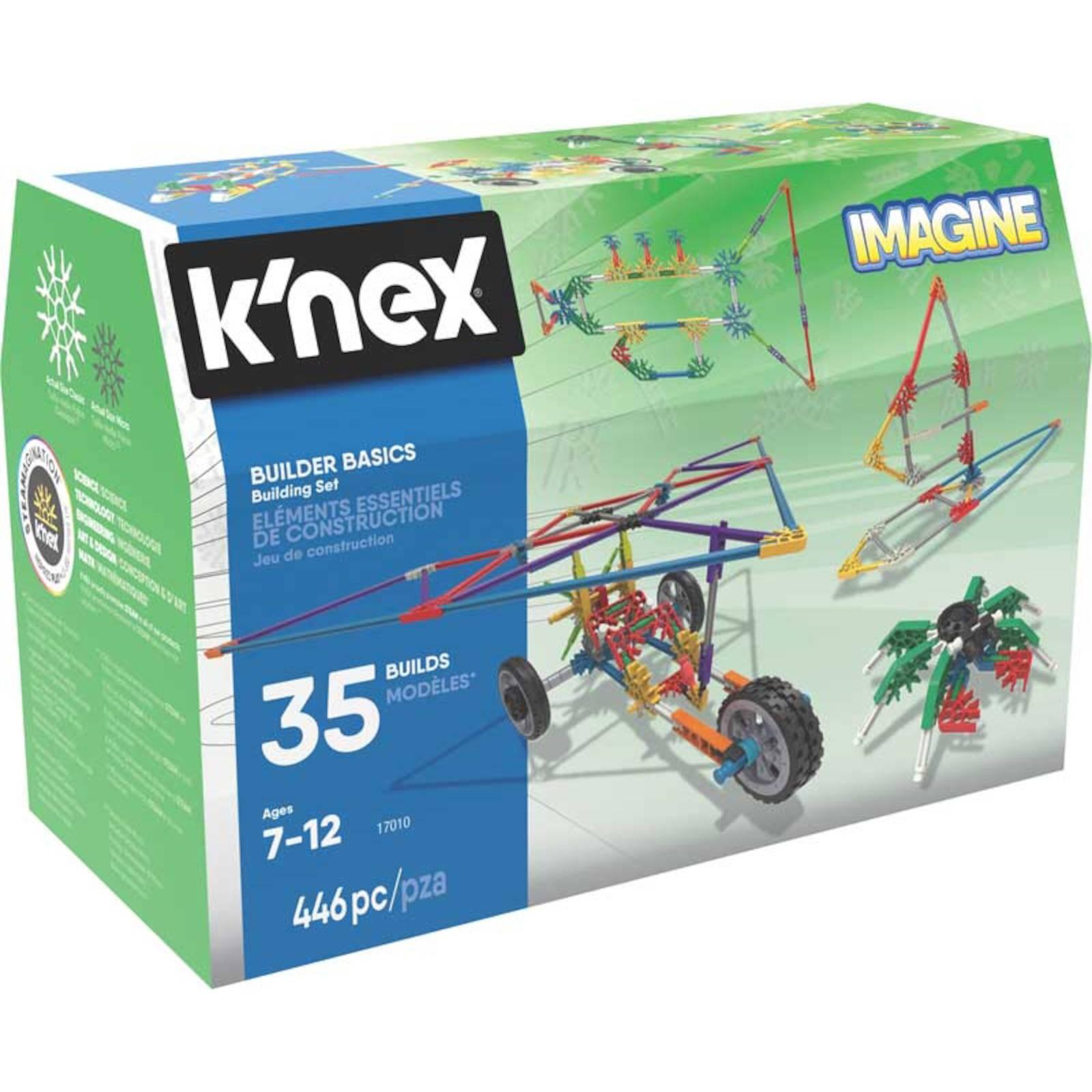 K'Nex Imagine Baumeister Basics Baukasten   Alter 3+ Jahre