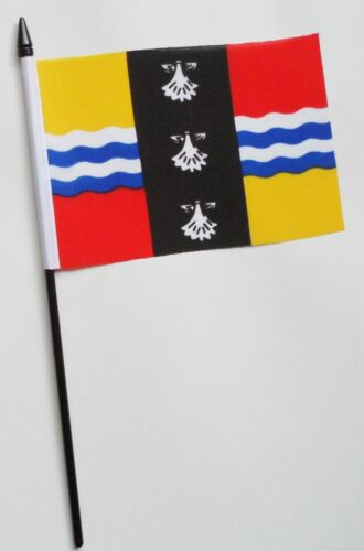 Bedfordshire Small Hand Waving Flag