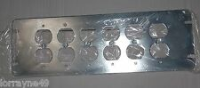 Orbit 4M6-DR 6 Gang Switch Box Cover Duplex Receptacle