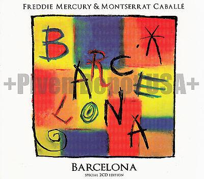 FREDDY MERCURY & MONTSERRAT CABALLE. Barcelona 2012 (2 CD Digipak) +USA SELLER+