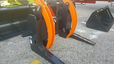 """MB LOG wood root Grapple skid steer tractor attachment 0-32"""""""