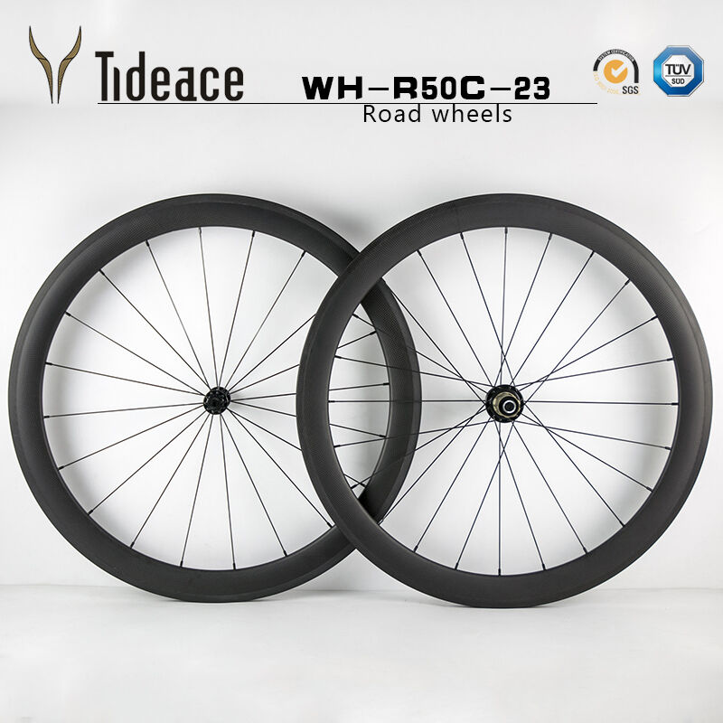 Cycling 700C  23mm width Carbon Fiber Road Bike Wheels Front+Rear OEM Bicycle Rim  hot limited edition