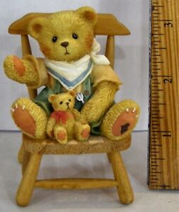 Cherished-Teddies-John-Bear-In-Mind-Your-Special-Thanksgiving-Son-Figurine