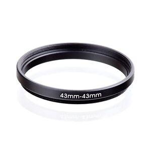 RISE-UK-43-43mm-43-43-Matel-Black-Extend-Ring-Filter-Camera-Adapter
