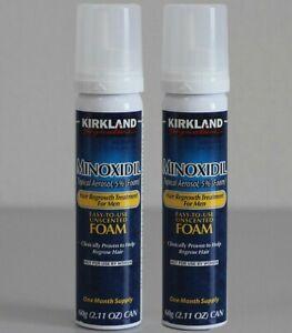 Kirkland Signature Minoxidil Schiuma Anticaduta per Uomo - 60g/ 6 Bottiglie