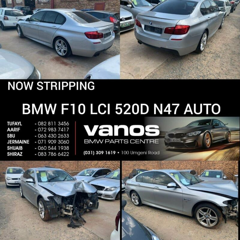 BMW F10 LCI 520D AUTO STRIPPING FOR SPARES
