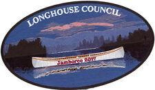 2017 Boy Scout Jamboree Longhouse Council JSP Jacket Staff Patch Badge Set BSA
