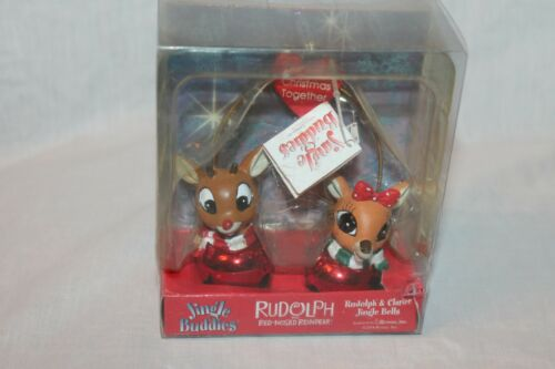 NEW CHRISTMAS  RUDOLPH THE RED NOSED REINDEER JINGLE BUDDIES CHRISTMAS ORNAMENT