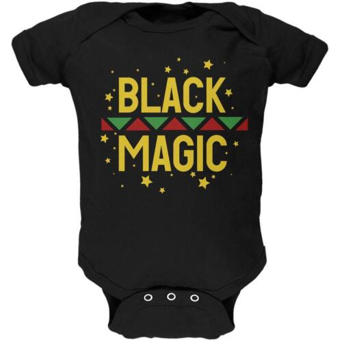 Black History Month Magic Star Pan African Soft Baby One Piece