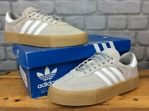 ADIDAS-ORIGINALS-LADIES-GREY-SUEDE-LEATHER-SAMBA-ROSE-GUM-TRAINERS-RRP-75