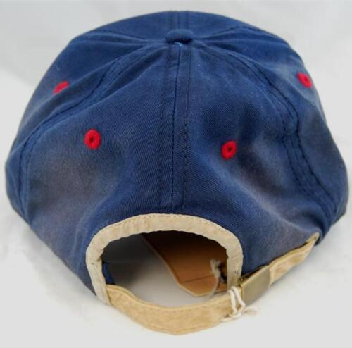 a9880a97d844 2 of 4 Team USA Retro Logo Embroidered Navy Washed Twill Cap by American  Needle