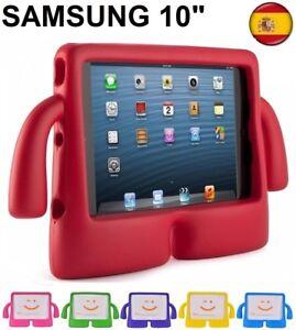 Funda-para-tablet-samsung-galaxy-TAB-10-034-10-1-034-Para-ninos-goma-iBuy-iGuy