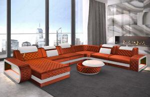 Sofa Wohnlandschaft Couch Luxus Design Chesterfield Xxl Ottomane