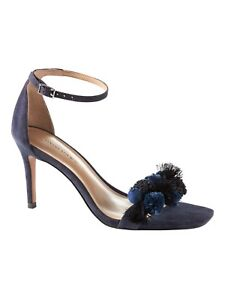 a0bb337d09a Image is loading Banana-Republic-Pom-Pom-Bare-High-Heel-Sandal-