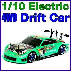 NEW-1-10-DRIFT-RACING-CAR-RTR-ELECTRIC-RC-REMOTE-4WD-BATTERY-POWERED-BUGGY-D5